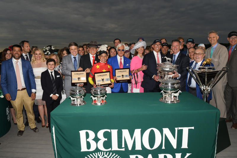 justify the belmont stakes adam coglianese17