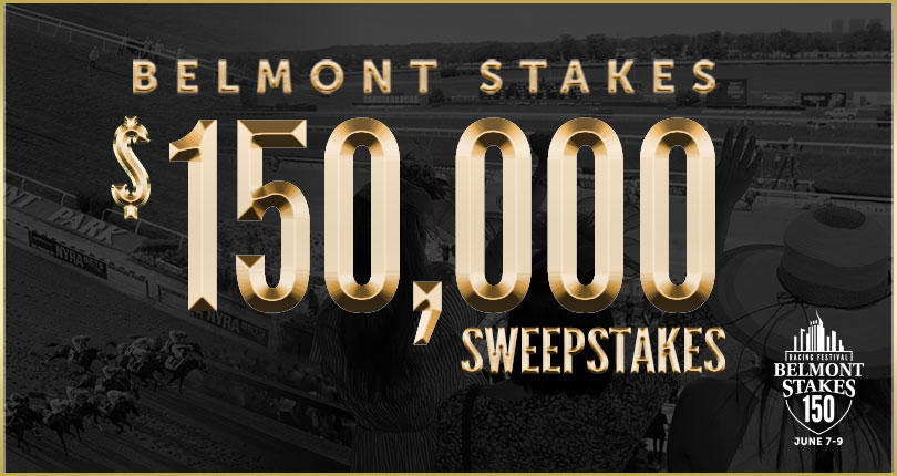 NYRA Launches Belmont Stakes $150,000 Sweepstakes