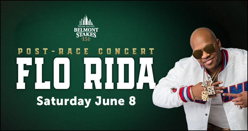 Image: Flo Rida to headline 2019 Belmont Stakes Racing Festival entertainment lineup Image