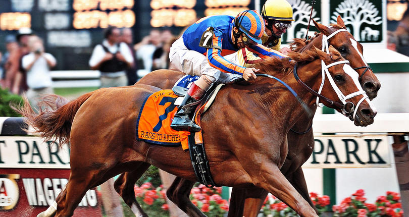 Image: In Their Own Words: Rags to Riches: A Filly's Historic Run in 2007 Belmont Image